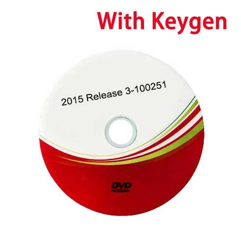 2018 Terbaru 2016. r0 CD VD Ds150e CDP untuk Delphis OBD OBD2 OBDII Scanner Baru Vci TCS CDP PRO Mendukung 2016 Model untuk autocoms