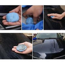 Auto Carro Doek Barras de Argila 100g Magia Barro Bar Auto Detalhamento Cuidados Ferramentas Com Caixa De Armazenamento Para O Veículo E argila lavagem Mitt