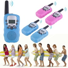 2PCS Kids RT-388 Walkie Talkie Toys For Children 0.5W 22CH Two Way Wireless Portable Radio Transmitter Boys Girls Brithday Gift