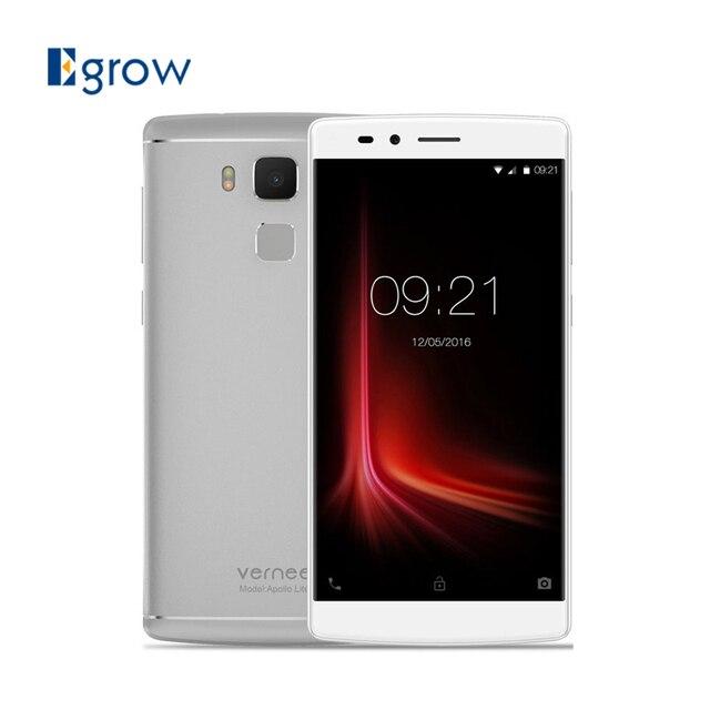 Original Vernee Apollo Lite 5.5 Inch Cell phones MTK6797 Deca Core 4GB RAM 32GB ROM Smartphone 4G LTE Android 6.0 Mobile Phones