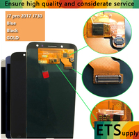 100 Tested Good Super Amoled Replacement For Samsung Galaxy J7 Pro 2017 J730 J730F LCD Screen