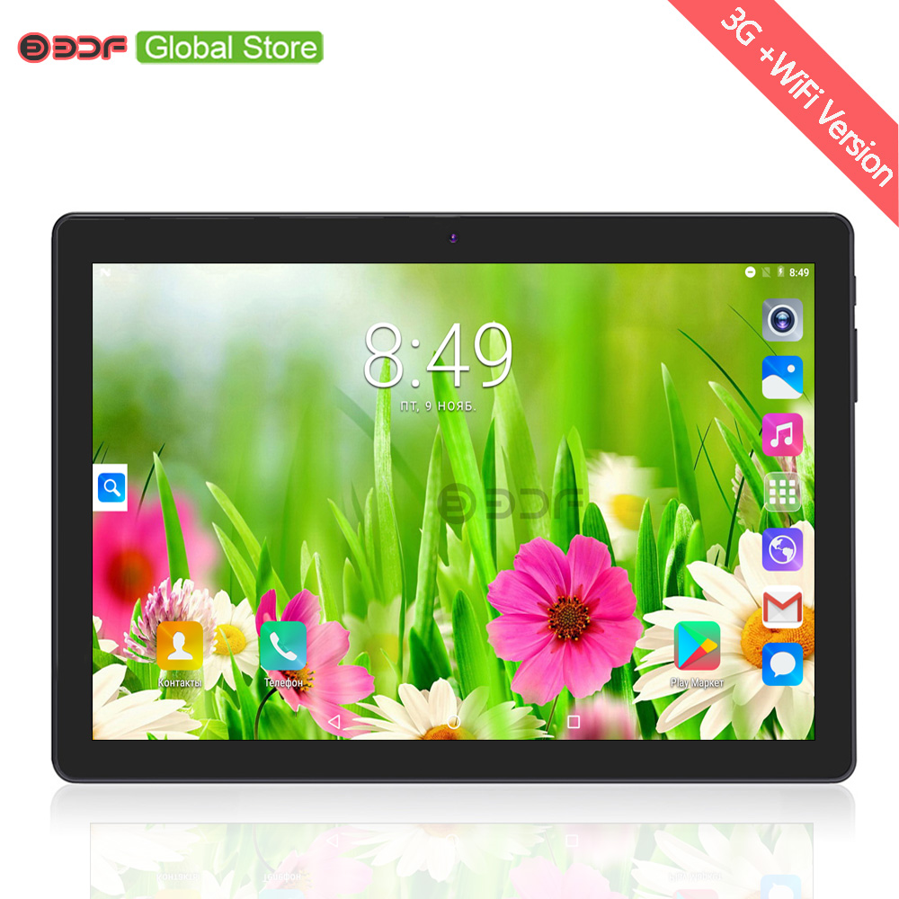 BDF 10 Inch Octa Core 4GB RAM 64GB ROM Tablet Pc Android 7 0 Mobile Phone
