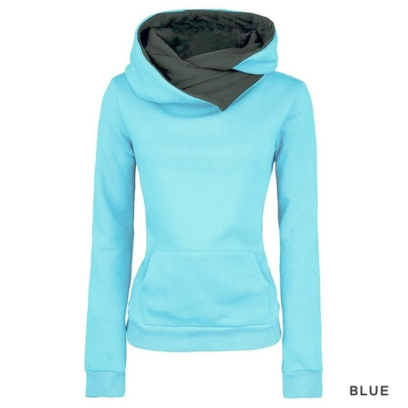 ZOGAA New 6 Colors Hot Fashion Casual Cotton Warm Womens Long-sleeved Hoodie Women Tops AutumnCotton Blouses Shirts Sale