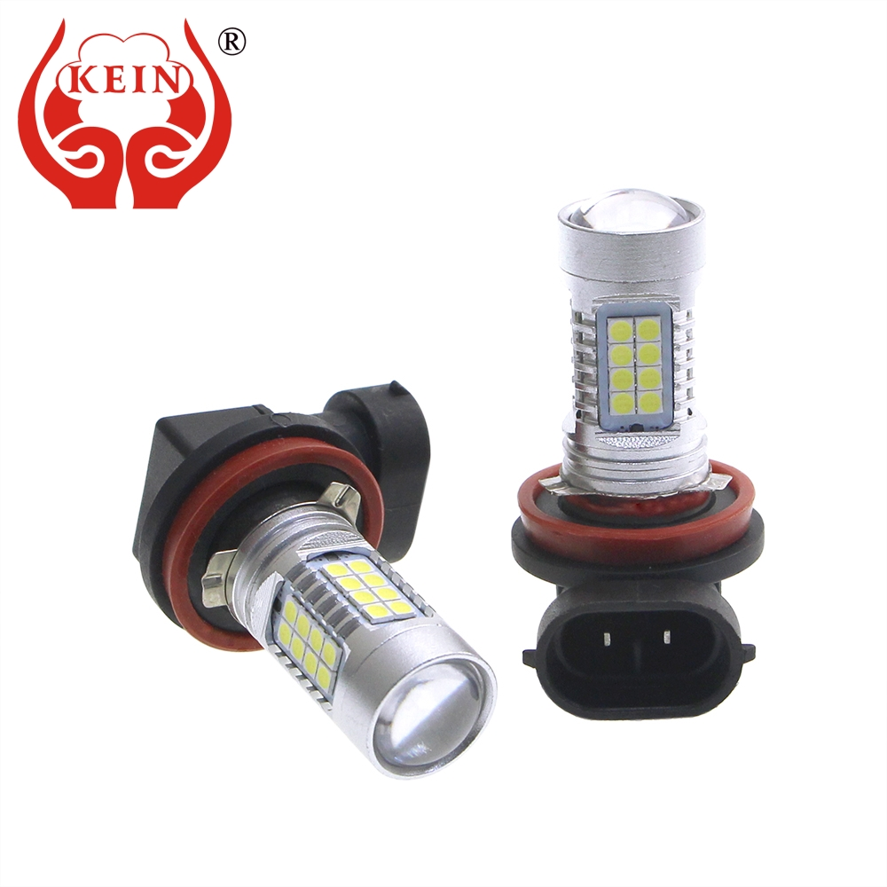 KEIN 2PCS H11 Fog LED Bulb Car 3030 36SMD DRL Auto Daytime Running Driving External Light