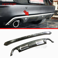 For Mazda CX 3 2015 2016 Stainless Steel Front Rear Bumper Skid Protector Guard Plate 2pcs