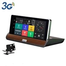New 7″ IPS Android 3G Car Camera GPS Navigation Bluetooth Wifi Car DVR Video Recorder Dual Lens Full HD 1080P Dash Cam Parking