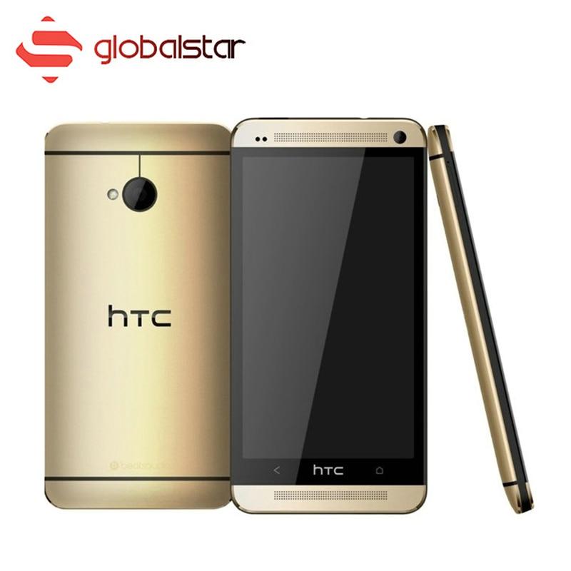Цена за Разблокирована оригинальный htc one m7 мобильного телефона 2 ГБ ram 32 ГБ rom Qualcomm Quad core Сотовый Телефон 4.7 Дюймов 4 Г LTE используется Смартфон
