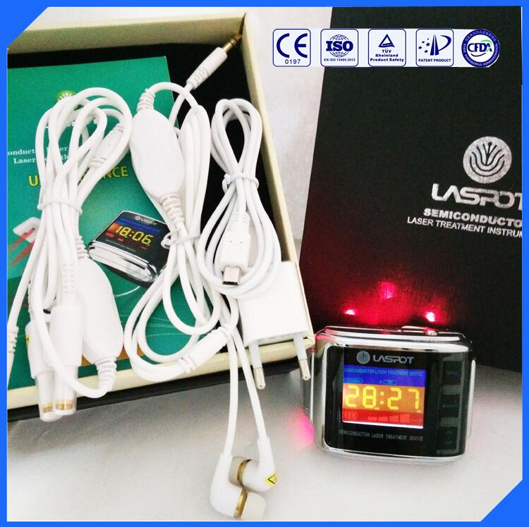 Laser wrist watch 13485 low-level laser therapy (lllt) for tinnitus low level laser light therapy hemodynamic metabolic wrist type pulse laser