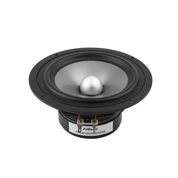1PCS Original Fountek FW168 6.5'' Woofer Speaker Driver Unit Aluminum Cone Casting Aluminum Basket 8ohm 50W RMS D168mm Fs=45Hz