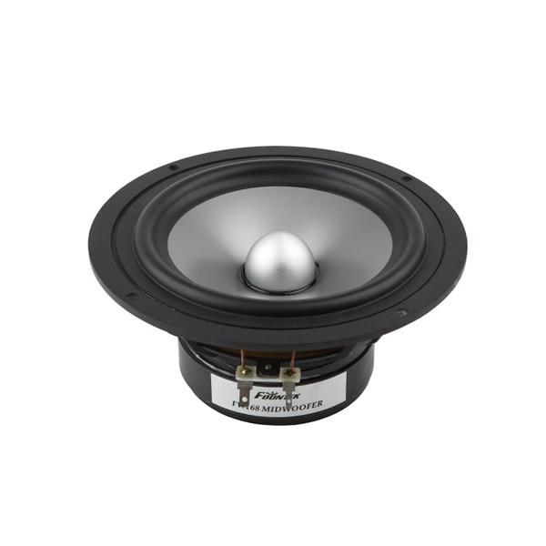 1PCS Original Fountek FW168 6.5'' Woofer Speaker Driver Unit Aluminum Cone Casting Aluminum Basket 8ohm 50W RMS D168mm Fs=45Hz