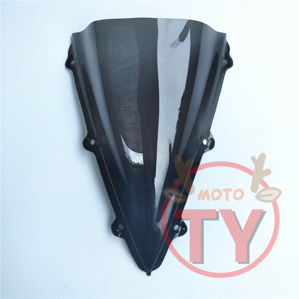ABS Plastic Windshield Windscreen Screen For Yamaha YZF R1 2004 2005 2006 Black