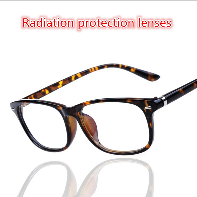 radiation protection lenses frames women men tortoiseshell reading glasses eyewear frames perfect qualitychina