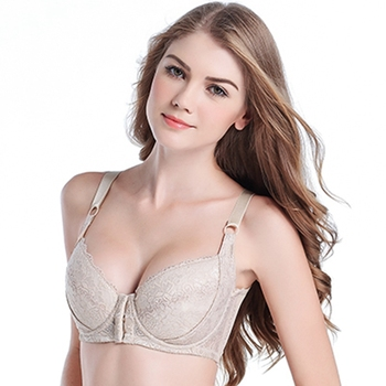YAVO SOSO  Sexy Lingeries Women bras plus size 110DEF large cups breathable vest front fastener lace women's underwear 5