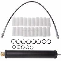 Black Aluminum Alloy PCP Air Filter Compressor Oil Water Separator High Pressure 40Mpa 300bar Pump DEC07 Dropship