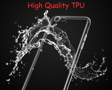 Esamday Clear Silicon Ultra Thin Soft TPU Case For iPhone
