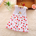 New Summer Baby Girl Fashion Dress Princess 0-1 Year party Infant Girl Print Newborn Floral Clothes Princess Sleeveless Clothes