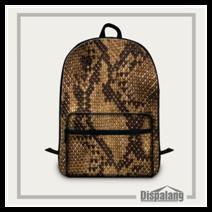 Snakeskin laptop backpack (9)