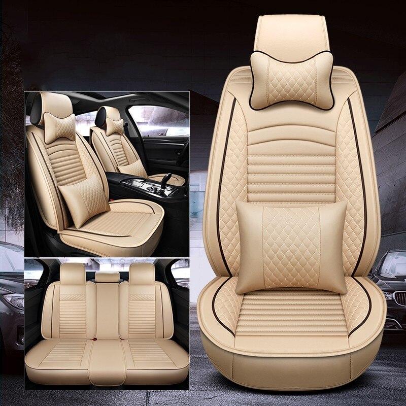 WLMWL housse de siège pour SIÈGE De Voiture En Cuir Universel tous les modèle LEON Toledo Ateca IBL exeo arona Car styling accessoires