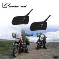 2pcs Helmet Bluetooth Headset Motorcycle Stereo Headphones For Mobile Phone intercom motor headset