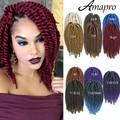 Amapro Hair Havana Mambo Twist Braid Synthetic Hair Crochet Braiding Locs Box Braids 2X Havana Twist Bug Havana Twist Braids