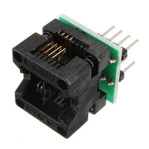Image 3 - SOIC8 SOP8 إلى DIP8 EZ محول مقبس وحدة مبرمج الناتج محول الطاقة مع 150mil موصل SOIC 8 SOP 8 إلى DIP 8