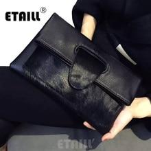 Высокое качество, леопард, конский волос,, известный бренд, для женщин, настоящая кожа, Дизайнерские клатчи, сумка-мессенджер, через плечо, конверт, сумки