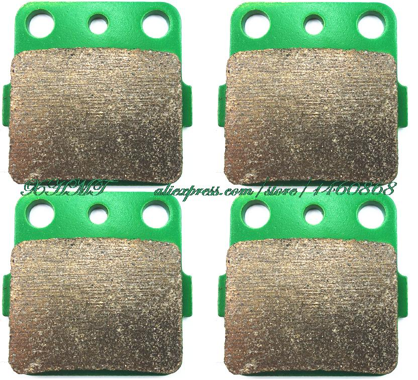 2001 2002 Honda TRX 250 Ex Sportrax Front Brake Pads And Rear Brake Shoes