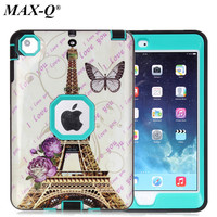 Luxury Case Cover For IPad Mini 1 2 3 High Impact Resistant Hybrid Armor Three Layer