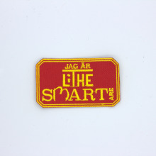 Custom Embroidery Own Patch for clothing iron on patch applique patches embroidered