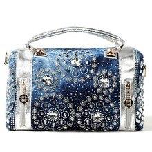 2016 beutel damen Diamanten handtaschen frauen Messenger bags designer-handtaschen hoher qualität Eimer Tuch taschen gold und silber farbe