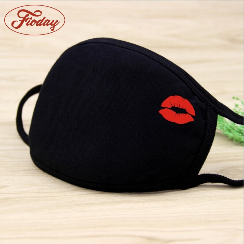 Cotton PM2.5 Mouth Mask Unisex 8 Styles Men And Women New Cotton Fashion Black Riding Dust Cold Thickening Mouth Mask A12D15