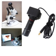 5.0MP USB Digital Microscope Electronic Eyepiece USB Video CMOS Camera Industrial Eyepiece Camera Free Driver for Image Capture