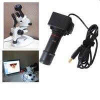 5.0mp usb microscópio digital ocular eletrônico usb câmera de vídeo cmos câmera ocular industrial driver livre para captura de imagem
