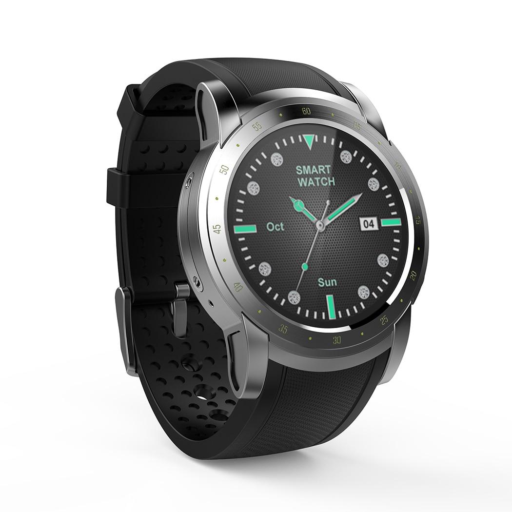 все цены на HW1 Smartwatch Sport Men SIM Card 3G WiFiGPS Bluetooth Music Wristwatch Heart Rate Monitor Sports Smart Watch For Android IOS онлайн