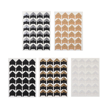 72 шт/3 листа фотоальбом фото угловые протекторы DIY ручной работы из крафт-бумаги стикер декор для скрапбукинга