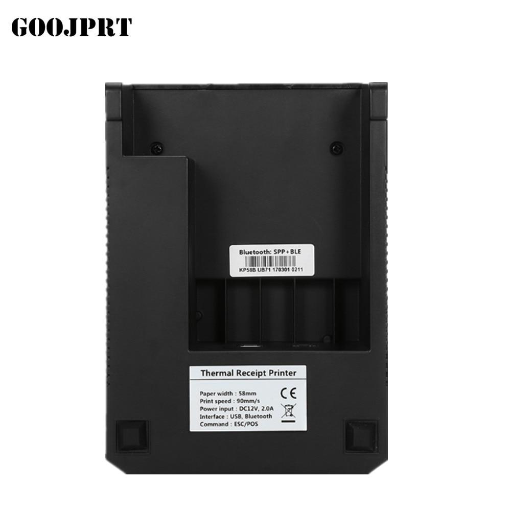 5890K портативті 58 мм USB порты POS - Кеңсе электроника - фото 5