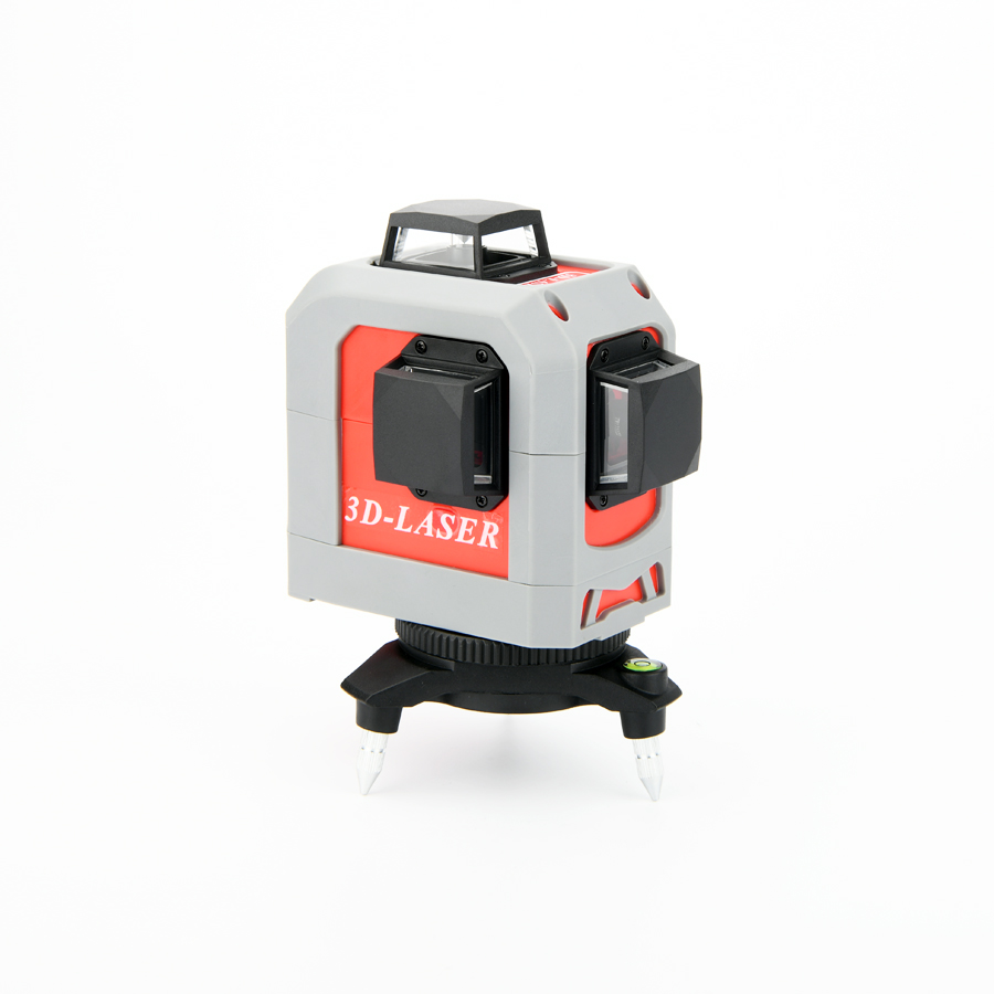 12Lines 3D Laser Level Self-Leveling 360 Horizontal And Vertical Cross Super Powerful Red Laser Beam Line цена