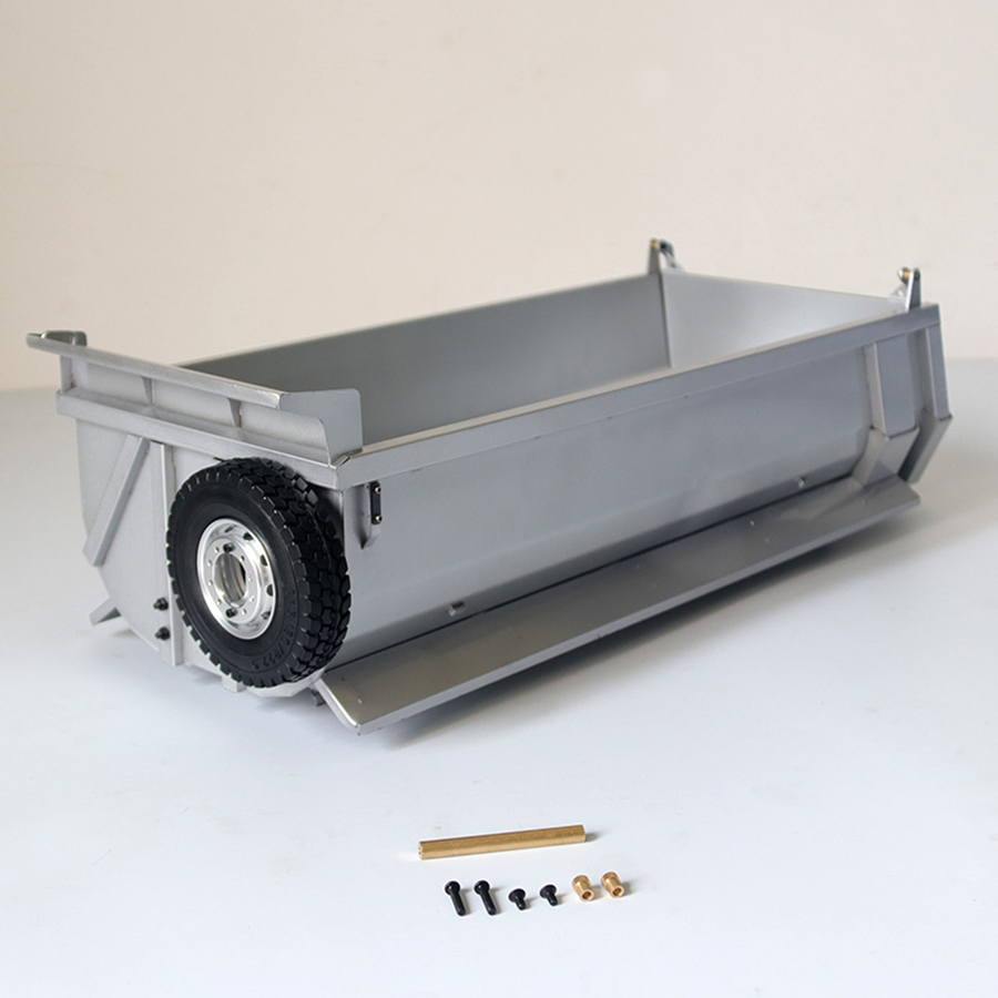 <font><b>RC</b></font> <font><b>Truck</b></font> Metal Bucket Set Fit For <font><b>Tamiya</b></font> 1/14 <font><b>RC</b></font> <font><b>Dump</b></font> <font><b>Truck</b></font> BEENZ 3348 3363 Arocs Remote Control Toys Tractor Trailer image