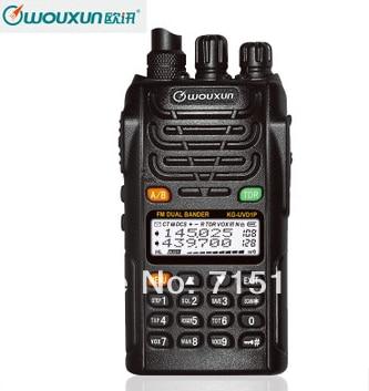 2pcs/Lot Protable Radio WOUXUN KG-UVD1P Walkie Talkie Dual Band Dual Display WOUXUN KG UVD1P VHF & UHF Two-way Radio