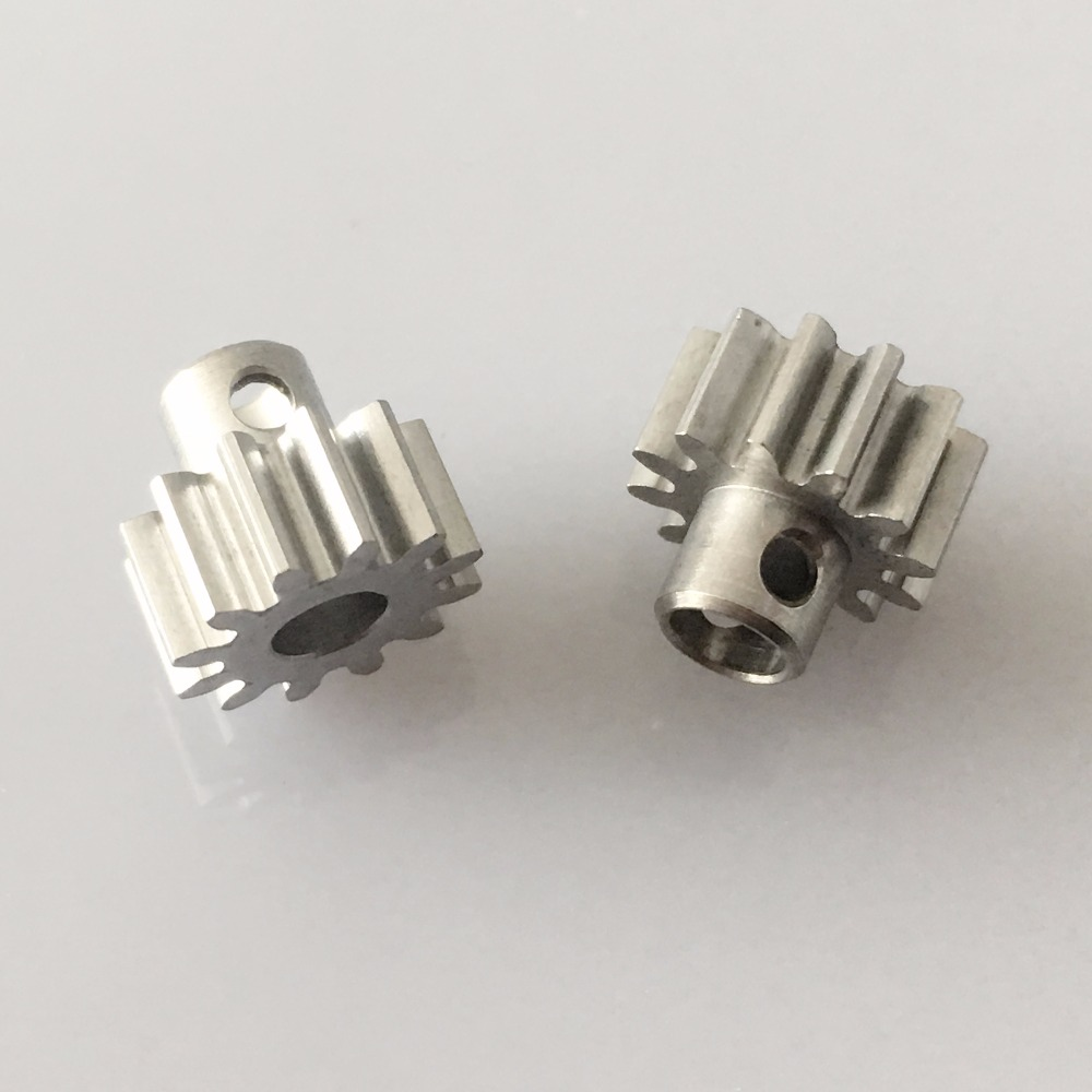 J610Y 2pcs Sale #45 Steel 12T Module 0.6 Gears 1.5mm Side Hole Free Russia Shipping