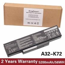 5200mAh Korea Cell Original Battery A32-K72 for ASUS K72Y K73 K73B K73BR K73BY K73E K73J K73JK K73S K73SD K73SJ K73SM K73SV K73T
