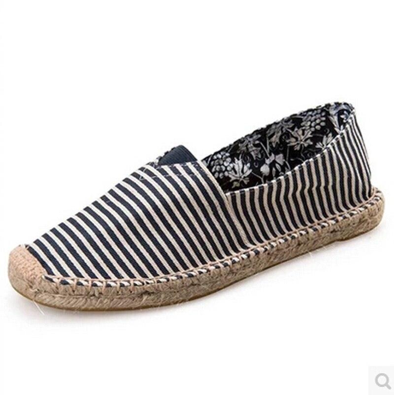 2016 mujeres zapatos slip on Casual zapatos de lona para hombres mujeres alpargatas holgazanes zapatos de