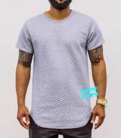 Streetwear Black Grey White M 2XL Designer Mens T Shirts Fashion 2017 Hip Hop Plain