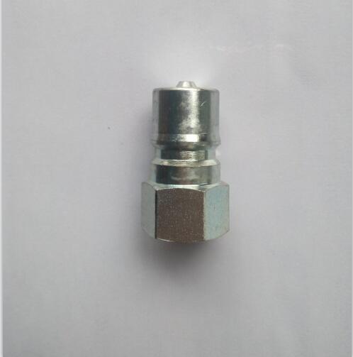 1 inch  ISO 7421 B series steel male hydraulic quick couplings hydraulic quick coupler 10 set 20pcs 10male 10female 3 8 iso 7421 bseries hydraulic quick couplings coupler brass kzd 03