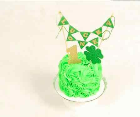 Pleasant Personalized Number St Patricks Day Luck Birthday Smash Cake Funny Birthday Cards Online Necthendildamsfinfo