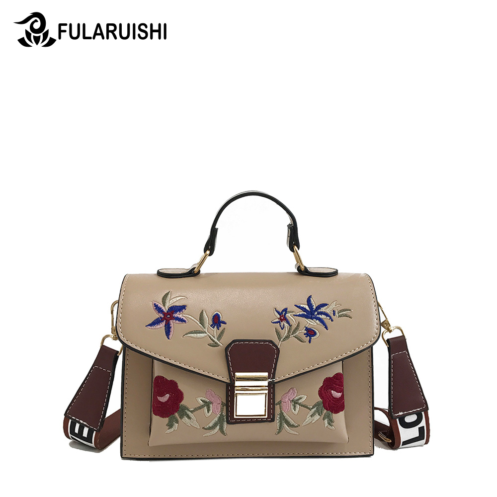 Fularuishi 2019 New HandBags Lady Pu Leather Printing Women Bags Fashion Shoulder Bags Female Design Bags 1