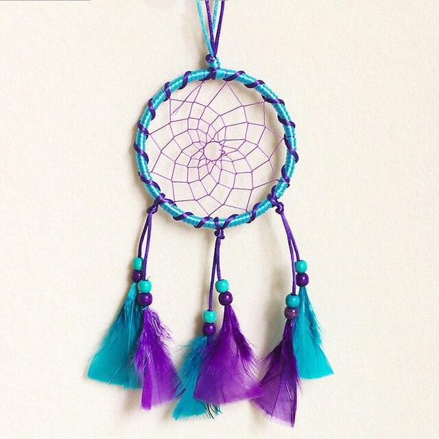 a850fb6769 Blue purple Feather Catcher Dreams