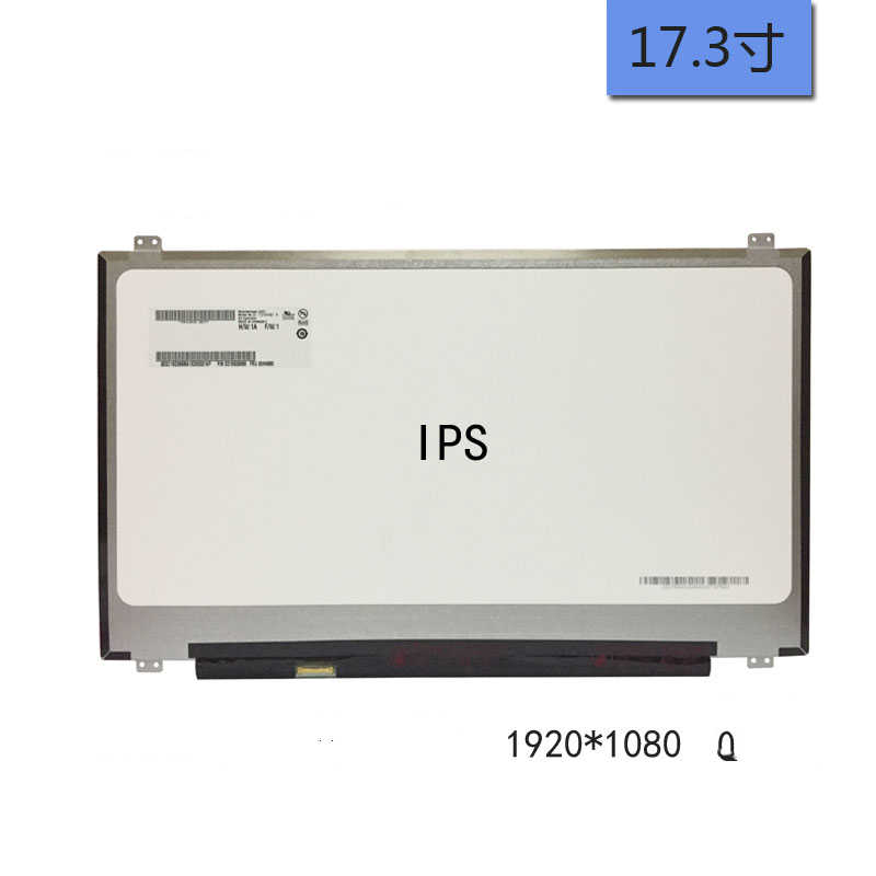 "Nieuwe 17.3 ""LED IPS Laptop Scherm Panel 1920*1080 30pin Martix Display LTN173HL01 LP173WF4 SPF1 (SP) (F1) SPF2 B173HAN01.0"