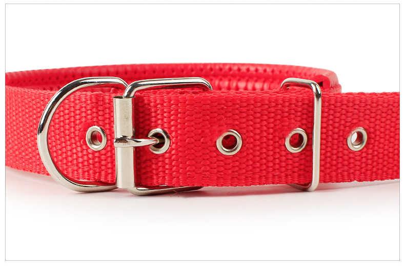 Vòng cổ cho chó Nylon đèn cổ da mềm lót chó xốp cổ đơn giản sảng khoái 4 màu 5 Thông số kỹ thuật Đồ cho thú cưng