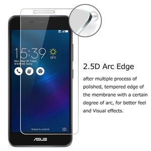Image 3 - 2pcs Tempered Glass for Asus Zenfone 3 Max X008D X008 Protective Glass on ASUS ZenFone 3 Max ZC520TL ZC520 TL Screen Protector